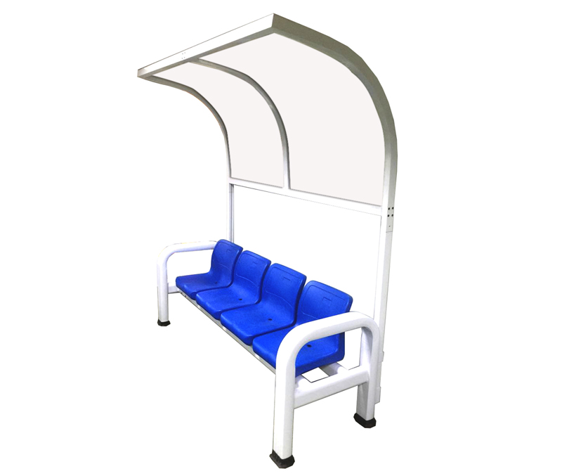 鋁合金棚加吹塑椅  BM-3004(B)