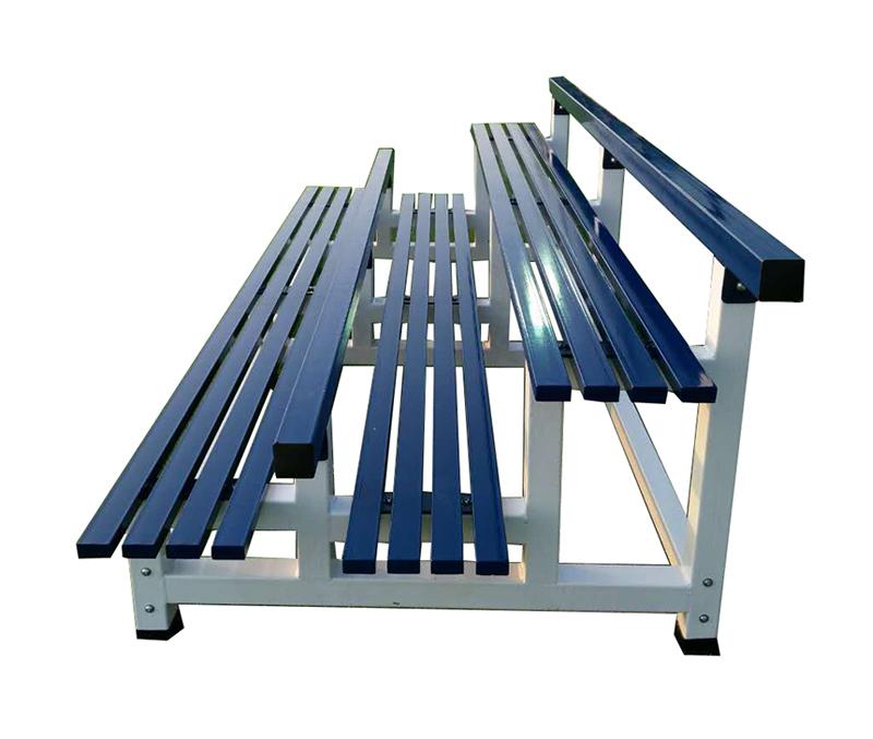 精钢两层简易条椅  BMY-102(B)