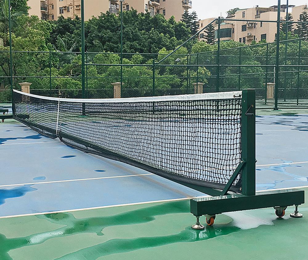 全移動式網球柱